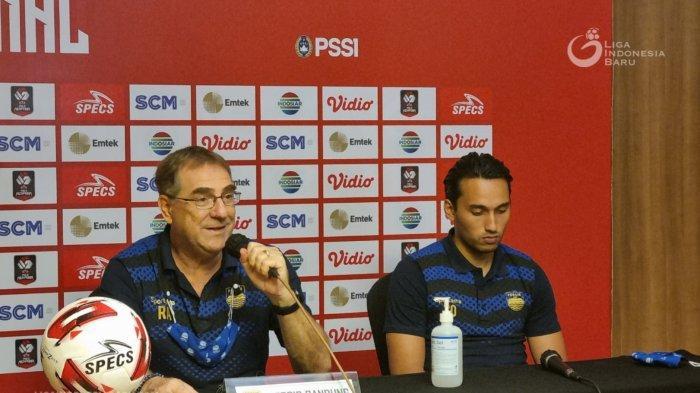 Hadapi Persija di Final Piala Menpora, Pelatih Persib: Ini Laga yang Saya Nantikan