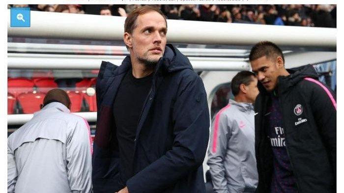 Pelatih PSG, Thomas Tuchel akan siapkan 3 alternatif lini serang untuk gantikan absennya Neymar dan Cavani