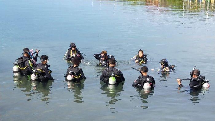 Sebanyak 13 Orang Ikut Pelatihan Diving Tahap Pertama di Parimo
