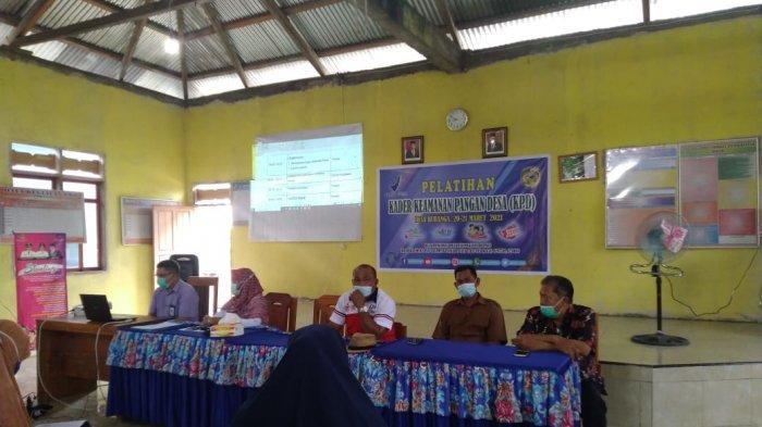 Pelatihan Kader Keamanan Pangan Desa (KKPD) Desa Buranga