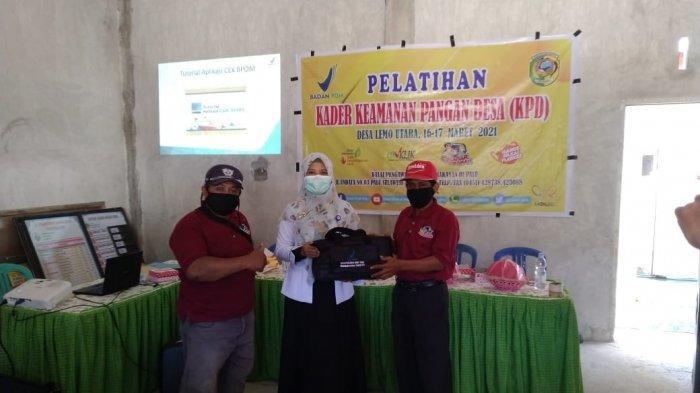 Pelatihan Kader Keamanan Pangan Desa (KKPD) Desa Lemo Utara