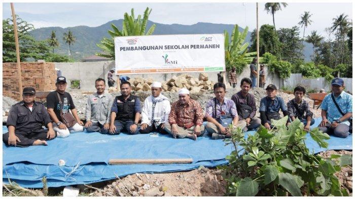 ACT Sulteng Bangun Kembali Madrasah di Palu yang Rusak Akibat Gempa