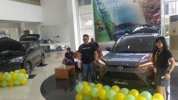 FOTO: Keren, Begini Penampakan All New Raize di Hasjrat Toyota Palu