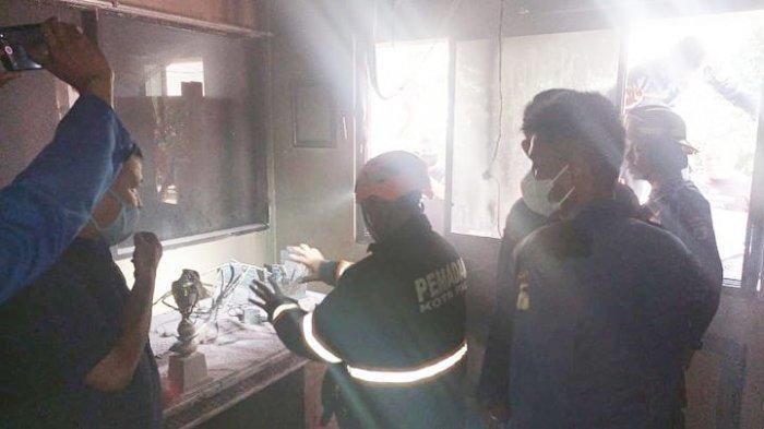 Kebakaran di Kantor Gubernur Sulteng, Tumpahan Bensin Menjadi Penyebab