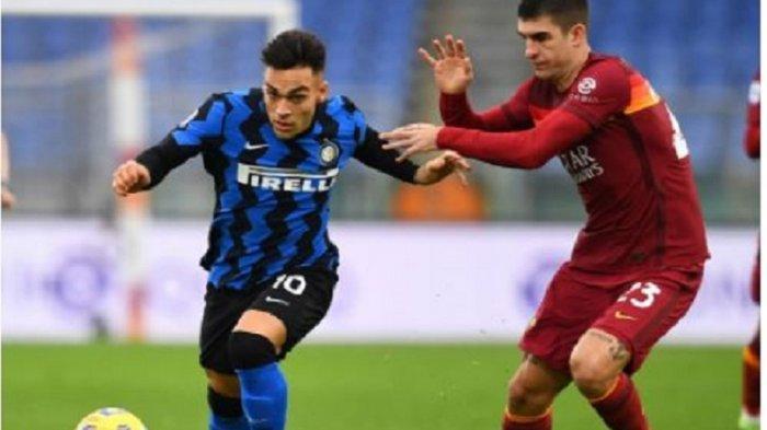 Hasil Liga Italia - Imbang Lawan Roma, Inter Milan Gagal Tempel AC Milan di Puncak Klasemen