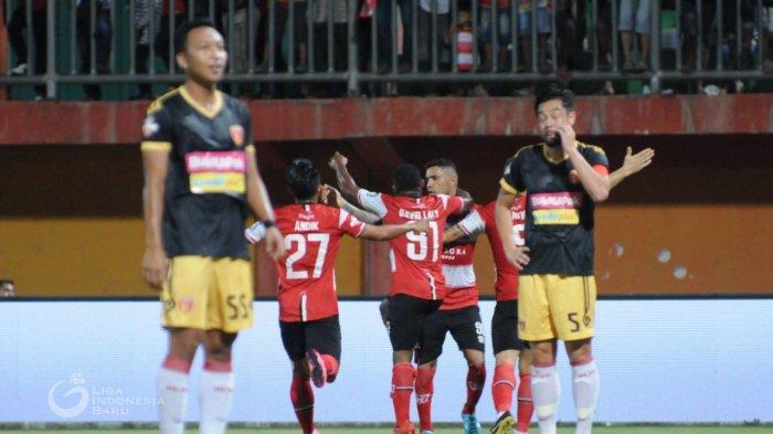 Update Liga 1: Madura United Ungguli Tuan Rumah Kalteng Putra pada Babak Pertama