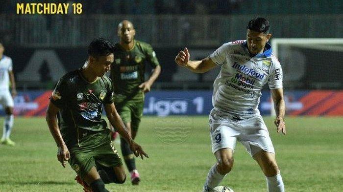 Susunan Pemain Borneo FC Vs Persib Bandung, Kedua Tim Habis-Habisan