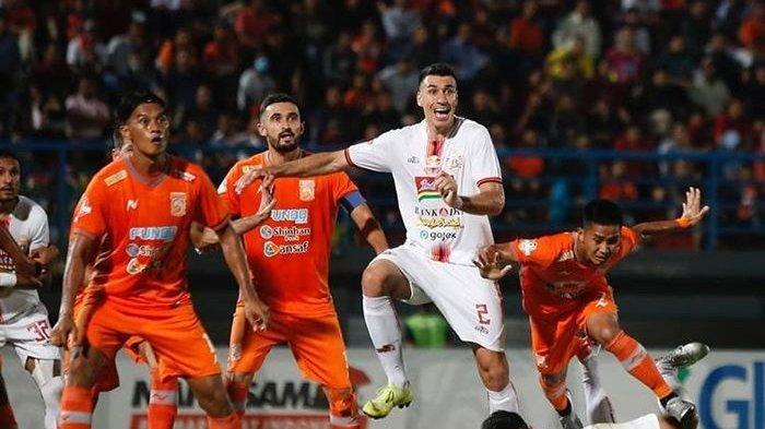 Hasil Liga 1 2020: Bhayangkara FC vs Persija Jakarta,Imbang 2-2, N'Douassel Selamatkan The Guardian