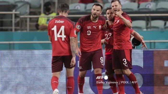 Hasil Euro 2020 - Meski Menang 3-1 Lawan Turki, Swiss Masih Harap-harap Cemas Cari Posisi 3 Terbaik