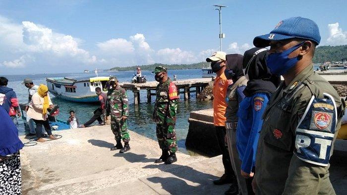 Pemeriksaan Ketat di Pelabuhan Balut Antisipasi Penyebaran Covid-19