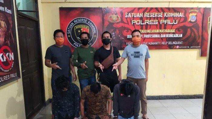 Gasak Mobil di Soppeng, 3 Kawanan Pencuri Diciduk di Palu