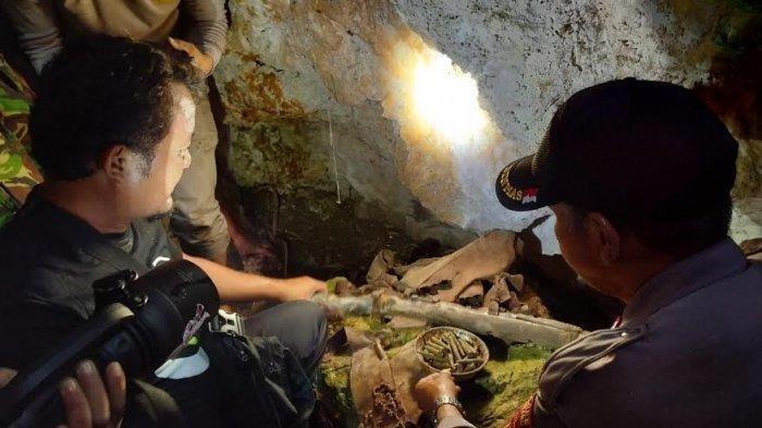 Warga Temukan Senpi dan Amunisi di Gunung Lakawan, Enrekang, Sulsel, Diduga Peninggalan DI-TII