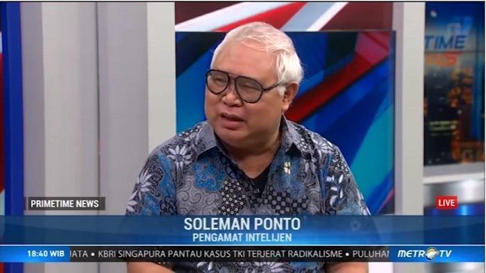Pengamat Intelijen, Soleman B Ponto Beberkan Alasan Mengapa Wiranto yang Dijadikan Sasaran Penusukan