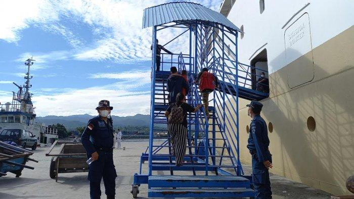 KSOP Perketat Protokol Kesehatan di Pelabuhan Pantoloan Palu