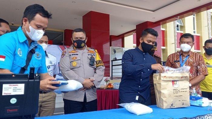 Polisi Klaim Selamatkan 14 Ribu Orang, Pasca Memusnahkan 1,7 Kg Sabu Asal Malaysia