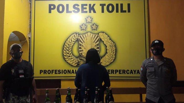 Tidak Miliki Izin Usaha Tempat Karaoke Banggai di Razia Polsek Toili, Miras dan Pemandu Diamankan
