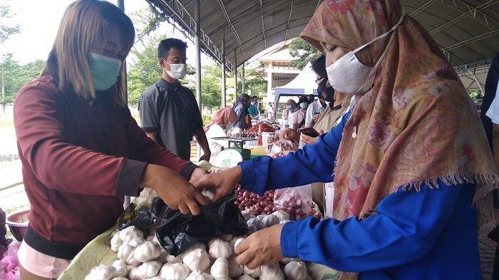 Dapatkan Sembako Harga Terjangkau di Pasar Murah Lapangan Vatulemo Palu, Dibuka Selama 3 Hari
