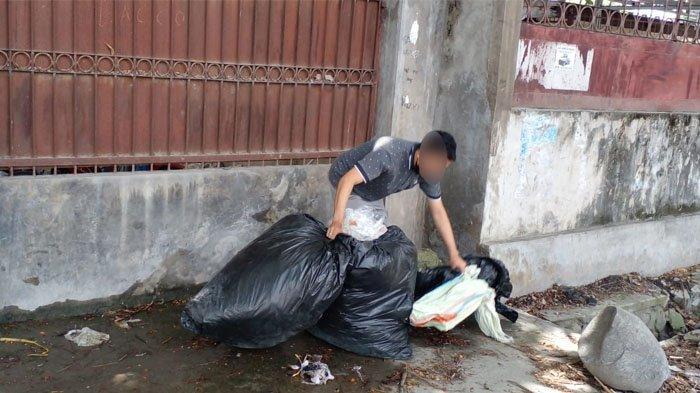 Pelaku Usaha di Ujuna Palu Dipaksa Pungut Kembali Sampah yang Dibuang Sembarang
