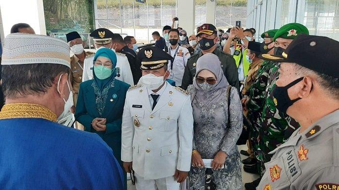 185 Personel Amankan Penyambutan dan Ramah Tamah Bupati-Wakil Bupati Banggai