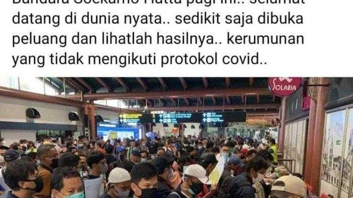 Kerumunan di Bandara dan Masyarakat Buka Peti Jenazah Positif Covid-19 Jadi Sorotan Media Asing