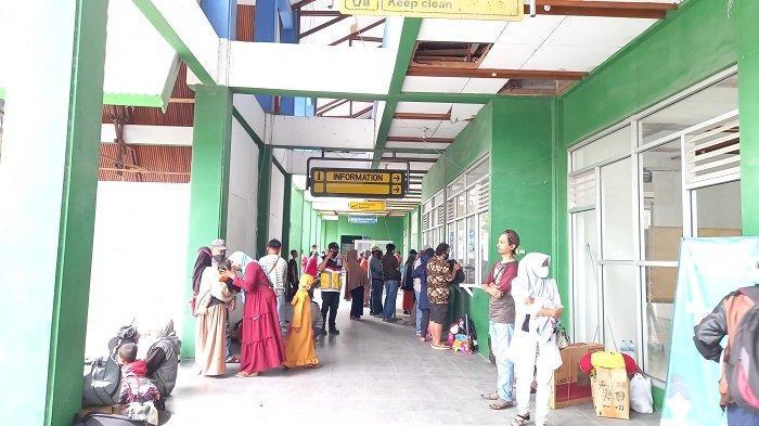 Ratusan Orang Mudik Lebih Awal di Pelabuhan Pantoloan Palu