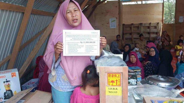 Kelompok Usaha Penyintas Binaan YSKK Rintis Kegiatan Usaha Perempuan Penyintas Bencana