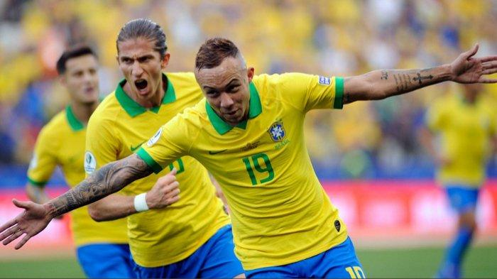 Live Score Semifinal Copa America 2019, Brasil vs Argentina, Firminho Gandakan Keunggulan Jadi 2-0