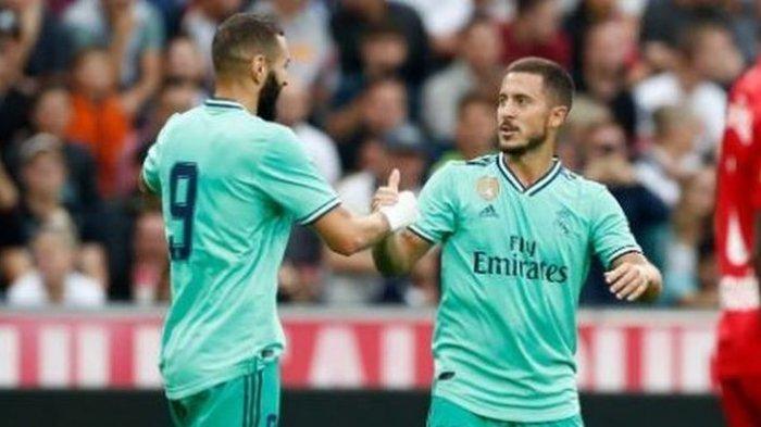 Zidane Siapkan Hazard Tampil di Liga Champions Saat Real Madrid Hadapi PSG
