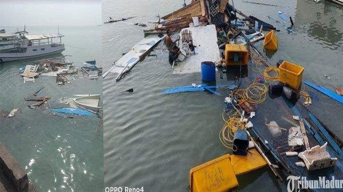 Detik-detik Perahu Motor Hancur Berkeping-keping karena Ledakan, Bermula Nahkoda Minta Buatkan Kopi