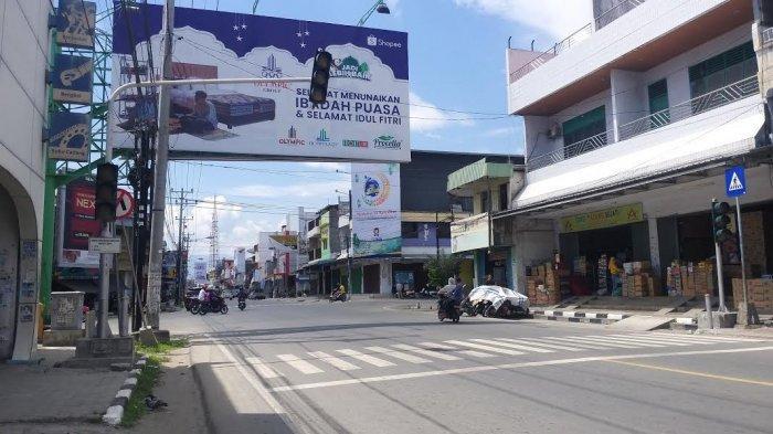 Traffic Light di Jl Gajah Mada Palu Tak Berfungsi, Lalulintas Semrawut