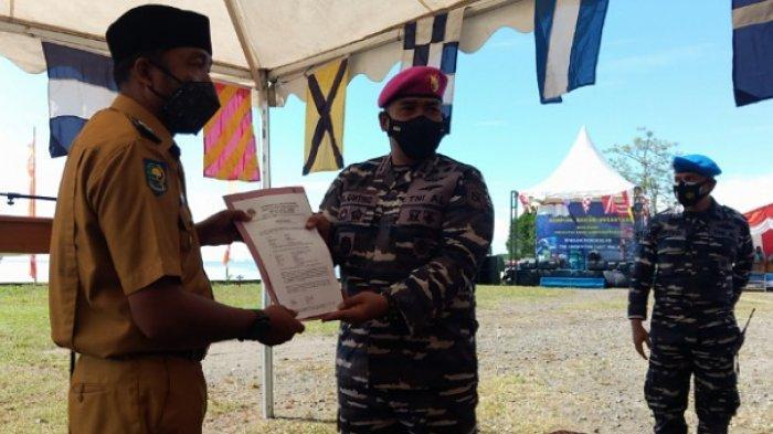 TNI AL Resmikan Kampung Bahari Nusantara di Sausu Parigi Moutong