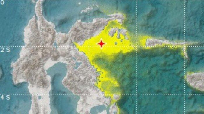 BMKG : Ada Potensi Tsunami, Gempa 6,9 di Sulawesi Tengah Jumat Malam