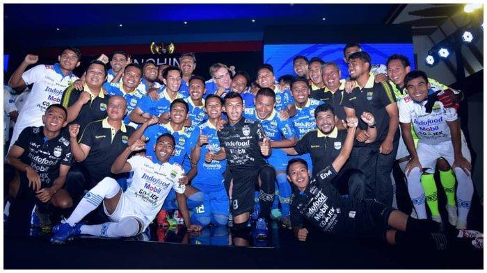 Para Pemain Persib Bandung Mendapatkan Libur Satu Hari Sebelum Berangkat ke Bali