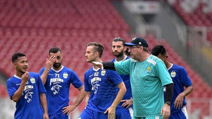 Jelang Persib Bandung Vs Persija Jakarta, Omid Nazari dan Nick Kuipers Menepi, Ezechiel Kembali