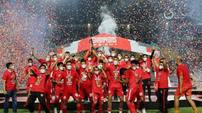 Kalahkan Persib Bandung di Piala Menpora, Persija Jakarta Raih 3 Gelar Juara Ini dalam Waktu 3 Tahun