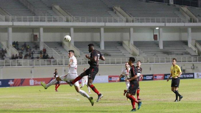 Hasil Liga 1: Tiga Kali Kalah Beruntun, Persipura Akhirnya Menang saat Lawan PSIS