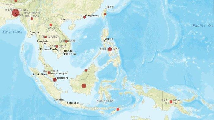 Pandemi COVID-19: Indonesia Catat Kasus Positif dan Kasus Aktif Tertinggi di Asia Tenggara