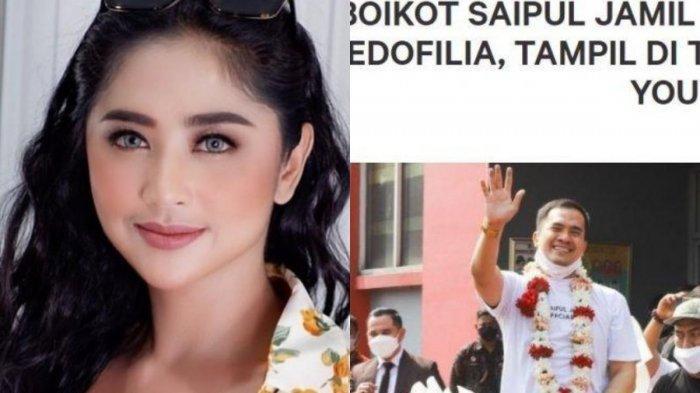Petisi Boikot Saipul Jamil Tembus 250 Ribu Pendukung, Dewi Persik: Jangan Lihat Masa Lalu Orang