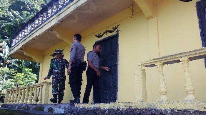 Ditinggal Mengungsi Akibat Erupsi Gunung Karangetang, Desa Batubulan Dijaga TNI dan Polri