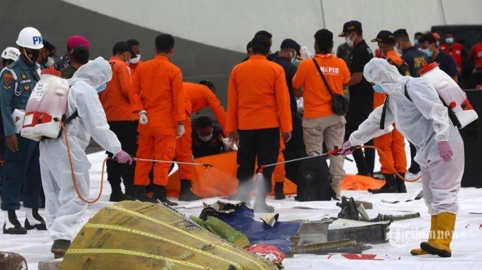 Update Sriwijaya Air SJ 182: Tim SAR Evakuasi 1 Lagi Kantong Jenazah Korban, Totalnya 19 Kantong