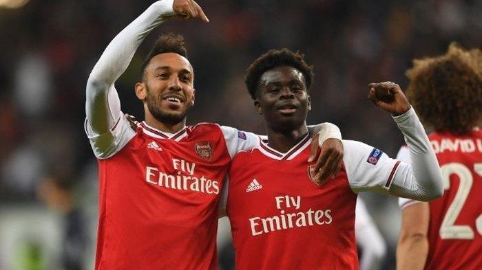 Hasil Liga Europa - Arsenal Hantam Frankfurt yang Bermain dengan 10 Orang
