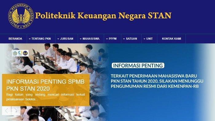 Dikabarkan Tidak Buka Pendaftaran Mahasiswa Baru Tahun 2020, PKN STAN Trending di Twitter