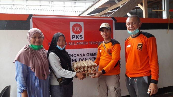 Bawa BBM dan Sembako, Rombongan PKS Sulteng Disambut Politisi Sulbar