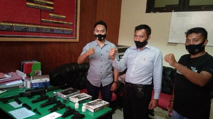 10 Warga di Banggai Kepulauan Miliki Airsoft Gun Tanpa Surat Izin, Polisi Sita Barang Bukti