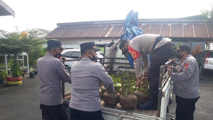 42 Tabung Elpiji Subsidi Diselundupkan, Kapolsek Toili: Dibeli di Banggai, Dijual di Morowali Utara
