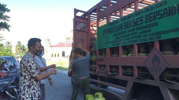 Polisi Sita Ratusan Tabung Elpiji 3 Kg di Luwuk Utara: Pelaku Penimbunan Terancam Penjara 5 tahun