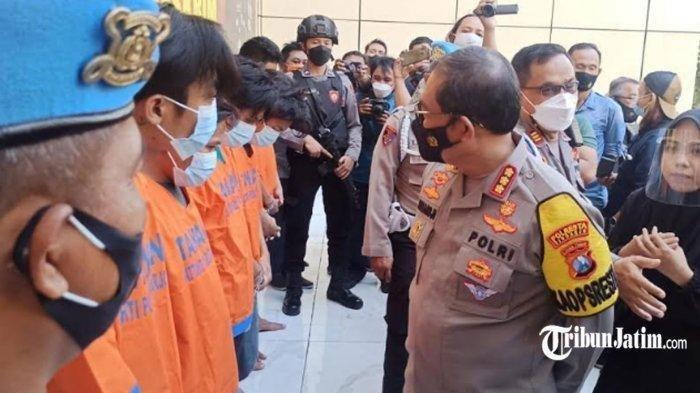 TNI-Polri Bekuk 6 Preman Terminal Bungurasih, Pelaku Pengeroyokan Anggota TNI AL Hingga Babak Belur