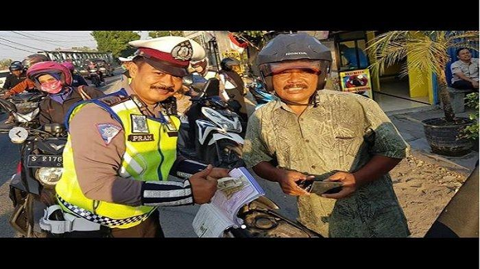 Viral Polisi Razia Mertua saat Operasi Patuh, Kronologi hingga Apresiasi Polres Bojonegoro