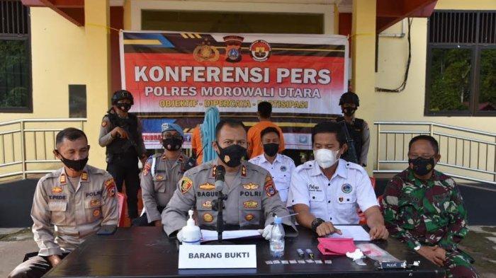 Mei-Juni 2021, Polres Morowali Utara Ciduk 14 Penikmat Sabu