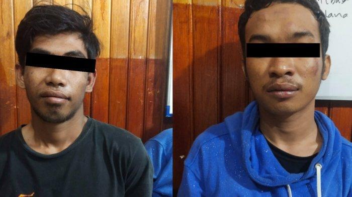 Beraksi di 16 TKP Gunakan Badik, Polres Palu Bekuk Dua Pelaku Spesialis Pencurian Handphone